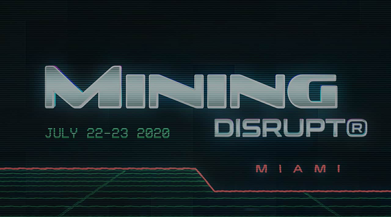 Mining Disrupt Conference 2020