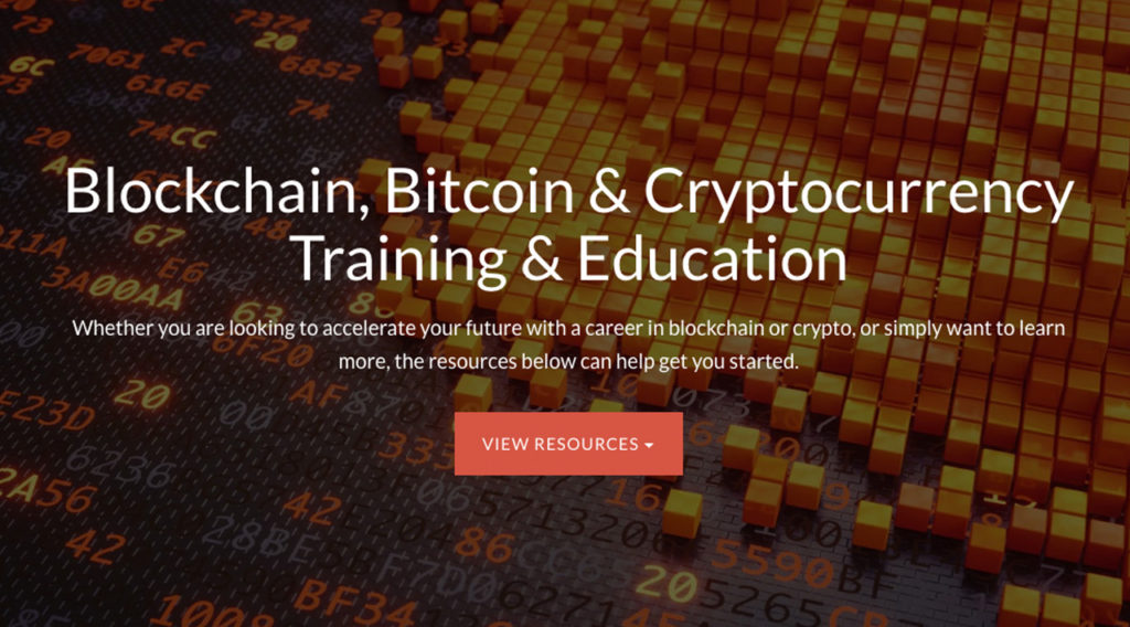 Blockchain, Bitcoin & Cryptocurrency Training & Education
